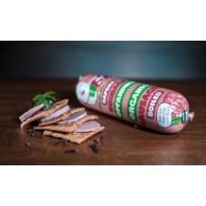 Колбаса для питания детей дошкольного и школьного возраста, вареная, высший сорт, органическая 0,300-0,400 г.