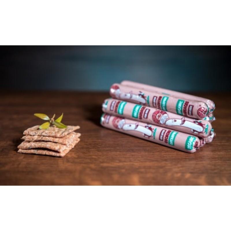 Сосиски для питания детей дошкольного и школьного возраста, высший сорт, органические 0,35 г.