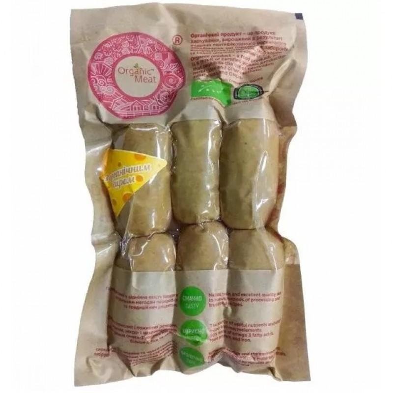 Сардельки органические с сыром в / с органические 0,42 г