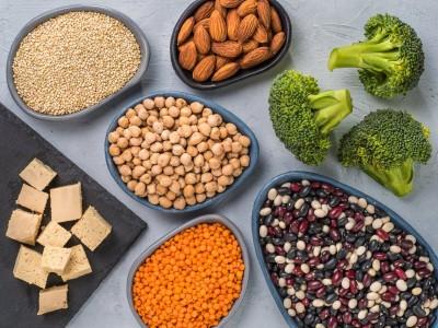 Продукты, являющиеся источником растительного белка