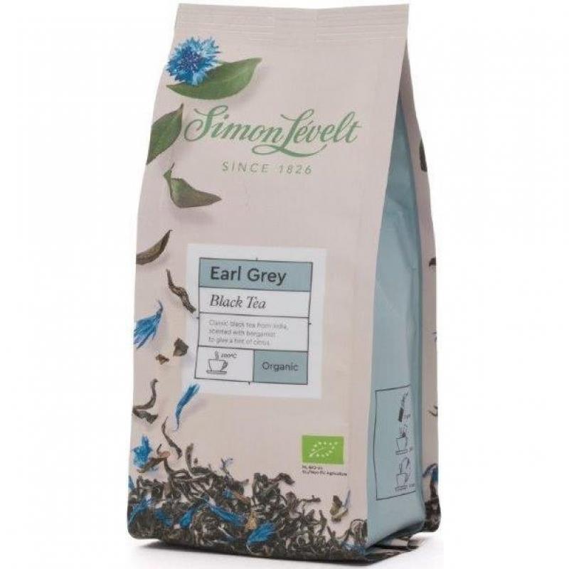 Чай черный Earl Grey Simon Lévelt листовой органический, 100 г