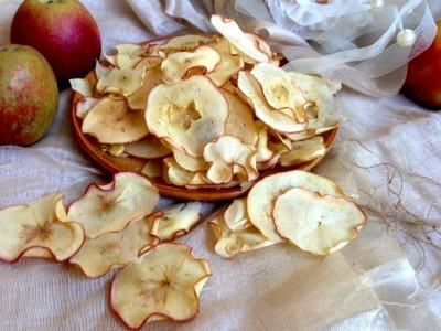 Яблочные чипсы - стопроцентно натуральный, полезный и очень вкусный продукт
