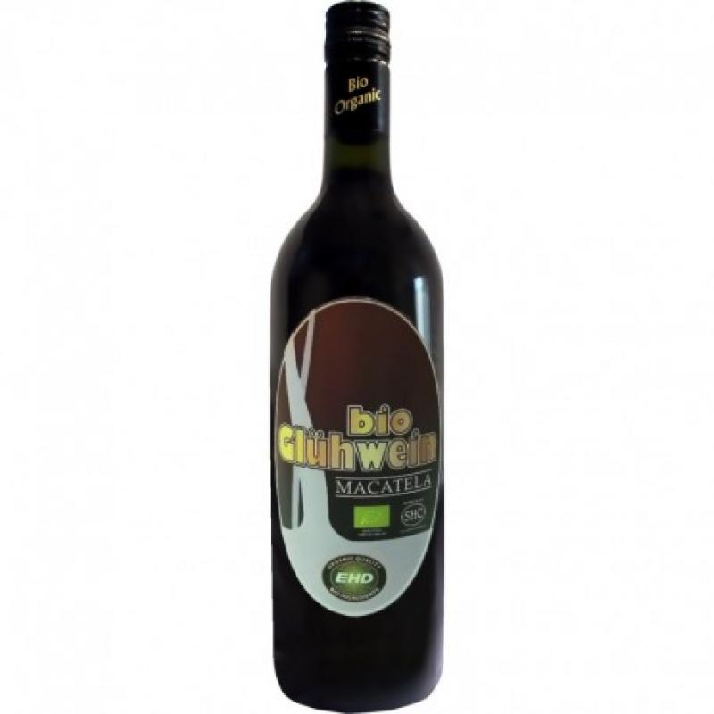 Вино красное сладкое Macatela Glühwein (Глинтвейн) органическое 0,75 л