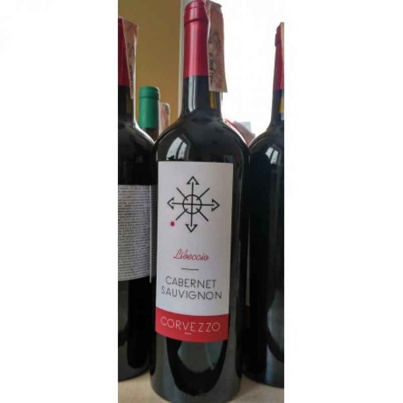 Вино красное сухое Corvezzo Cabernet Sauvignon органическое 0,75 л