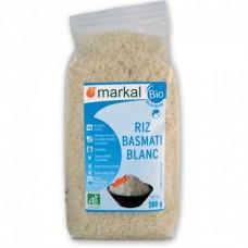 Рис белый длиннозёрный басмати Markal органический, 500 г
