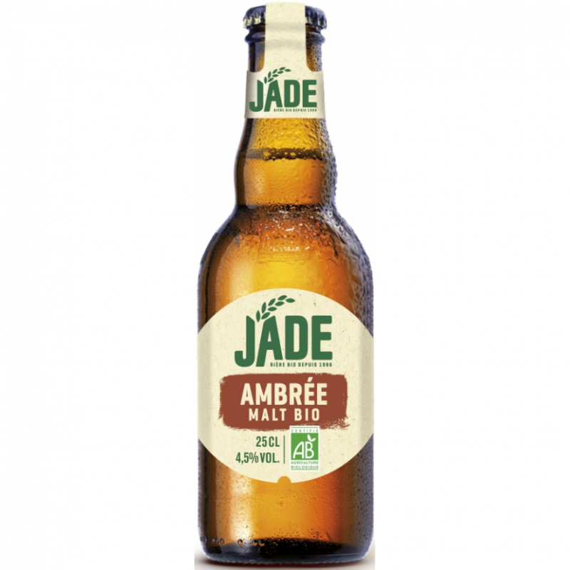 Пиво полутемное органическое Jade Ambrée, упаковка 6х250 мл