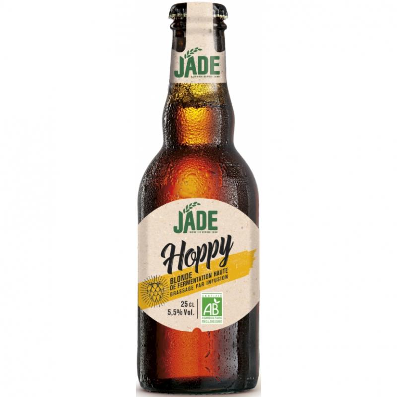Пиво светлое 0,25 HOPPY органическое JADE