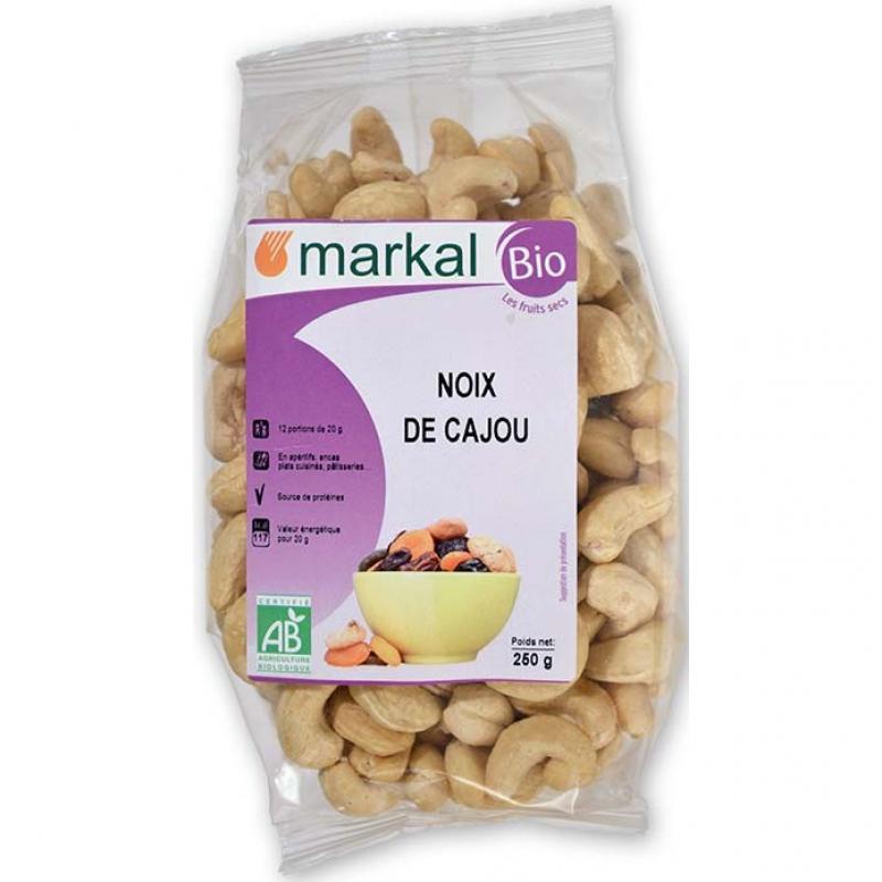 Орехи кешью Markal органические, 250 г