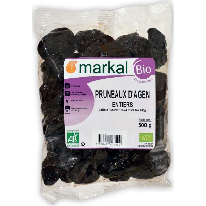 Чернослив Markal органический, 500 г