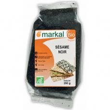 Кунжут чёрный Markal органический, 250 г