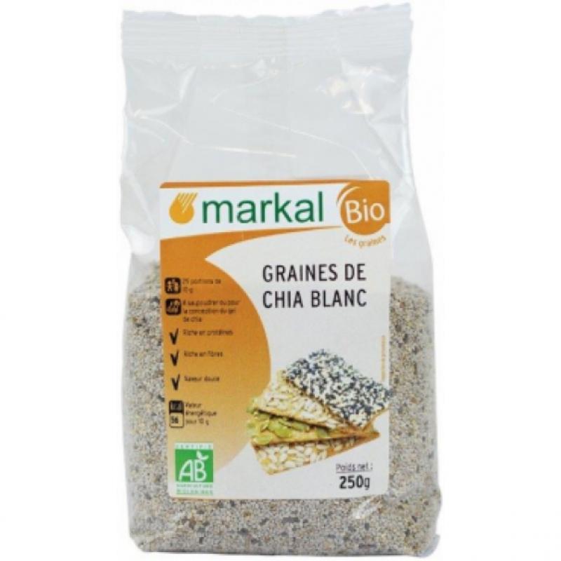 Семена чиа белые Markal органические, 250 г