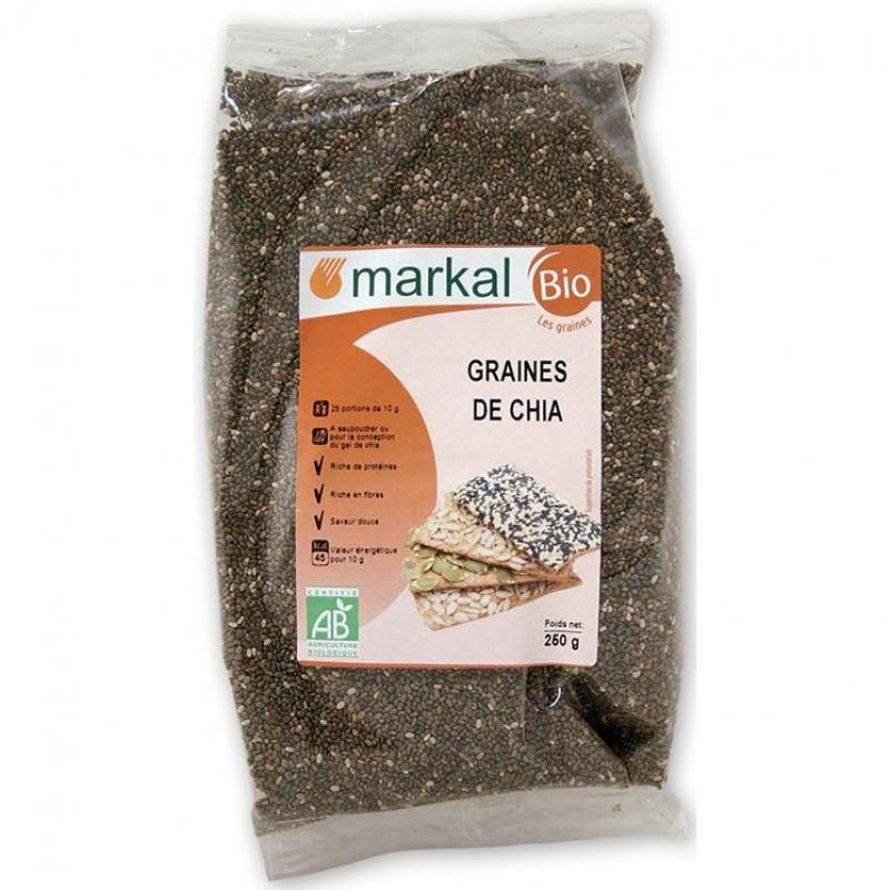 Семена чиа Markal органические, 250 г