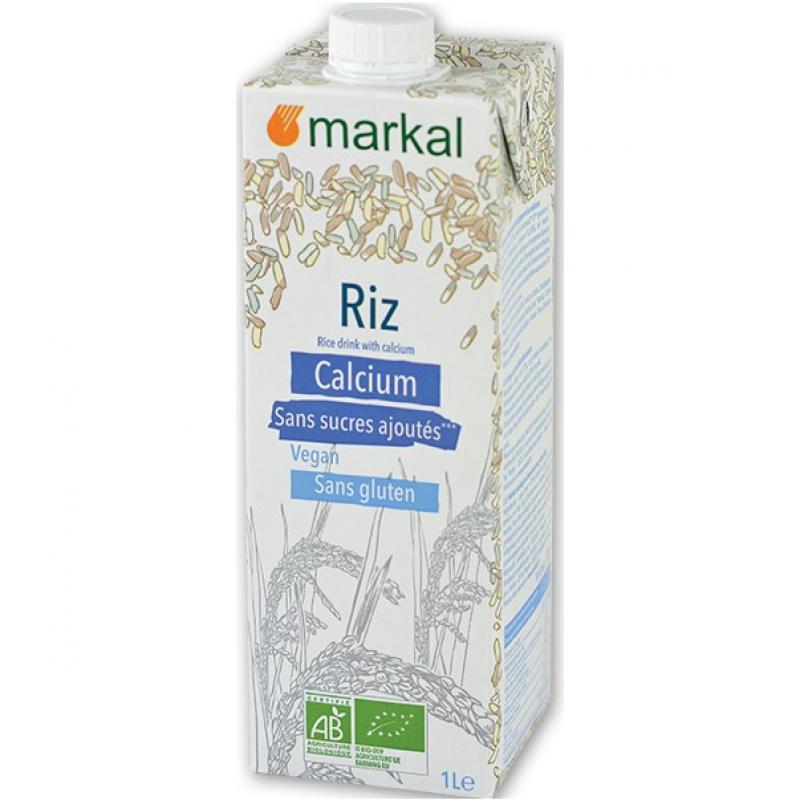Напиток рисовый с кальцием Markal без глютена органический, 1 л