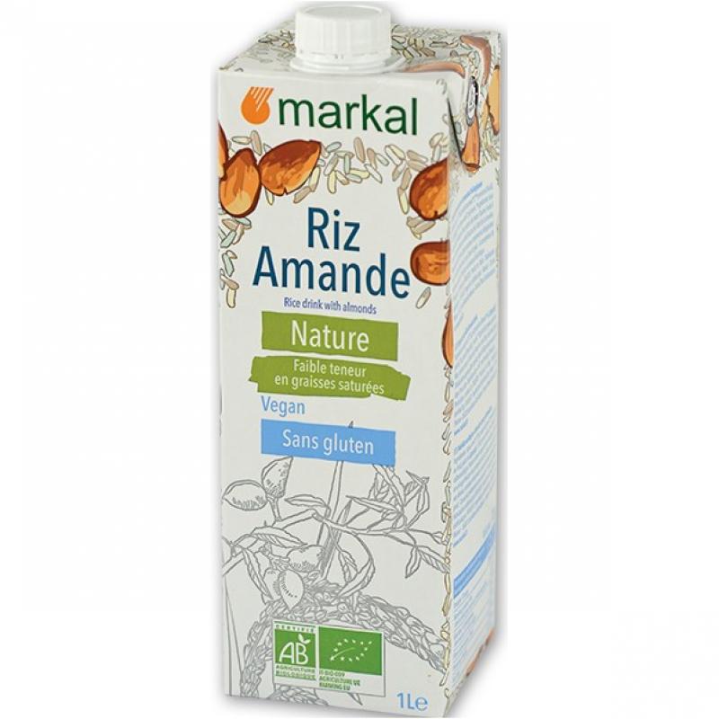 Напиток рисовый с миндалем Markal органический, 1 л