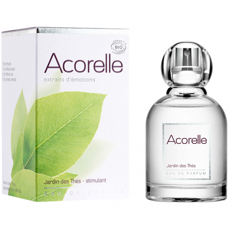 Парфюмерная вода Acorelle Tea Garden органическая, 50 мл