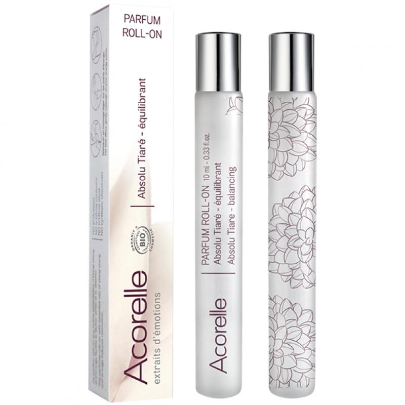 Роликовая парфюмерная вода Acorelle Absolu Tiaré органическая, 10 мл