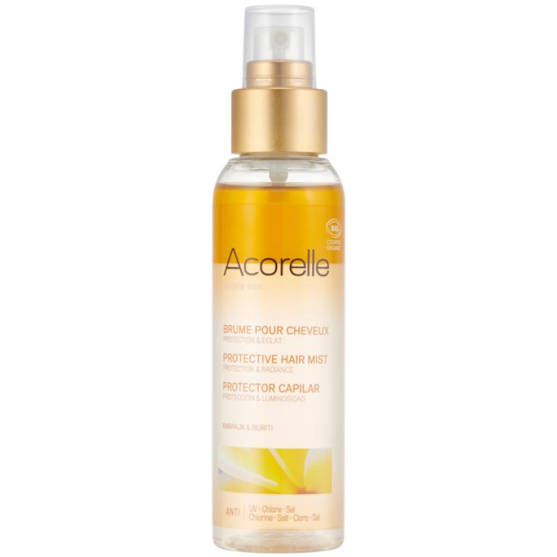 Спрей солнцезащитный двухфазный для волос Acorelle органический, 100 мл