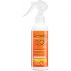 Спрей солнцезащитный для детей SPF 50 органический Acorelle, 150 мл