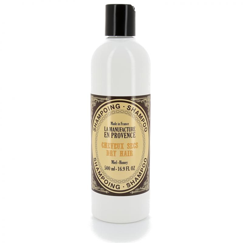 """Шампунь для сухих волос """"Мед"""" La Manufacture en Provence органический, 500 мл"""