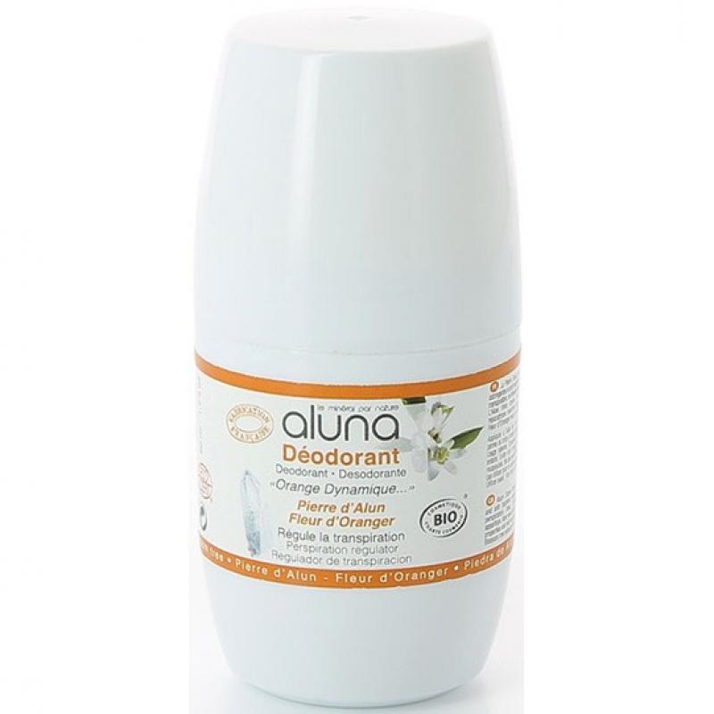 """Дезодорант роликовый """"Цветы апельсинового дерева"""" Aluna органический, 50 мл"""