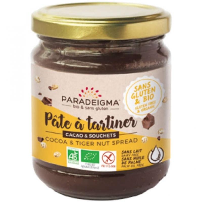 Паста из какао и тигрового ореха Paradeigma органическая, 200 г