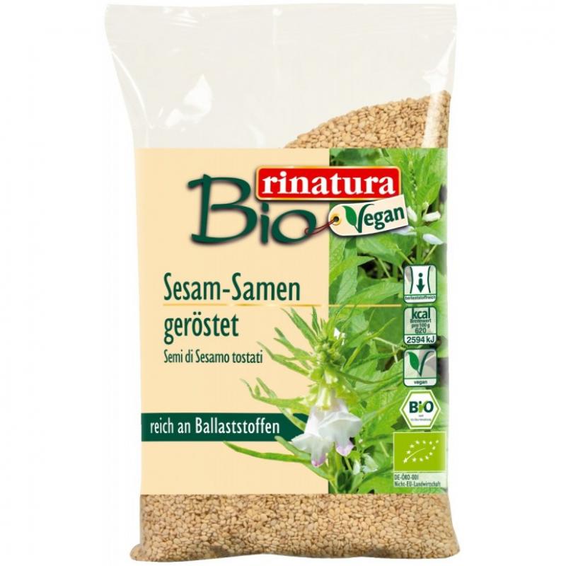 Семена кунжута Rinatura органические жаренные, 250 г