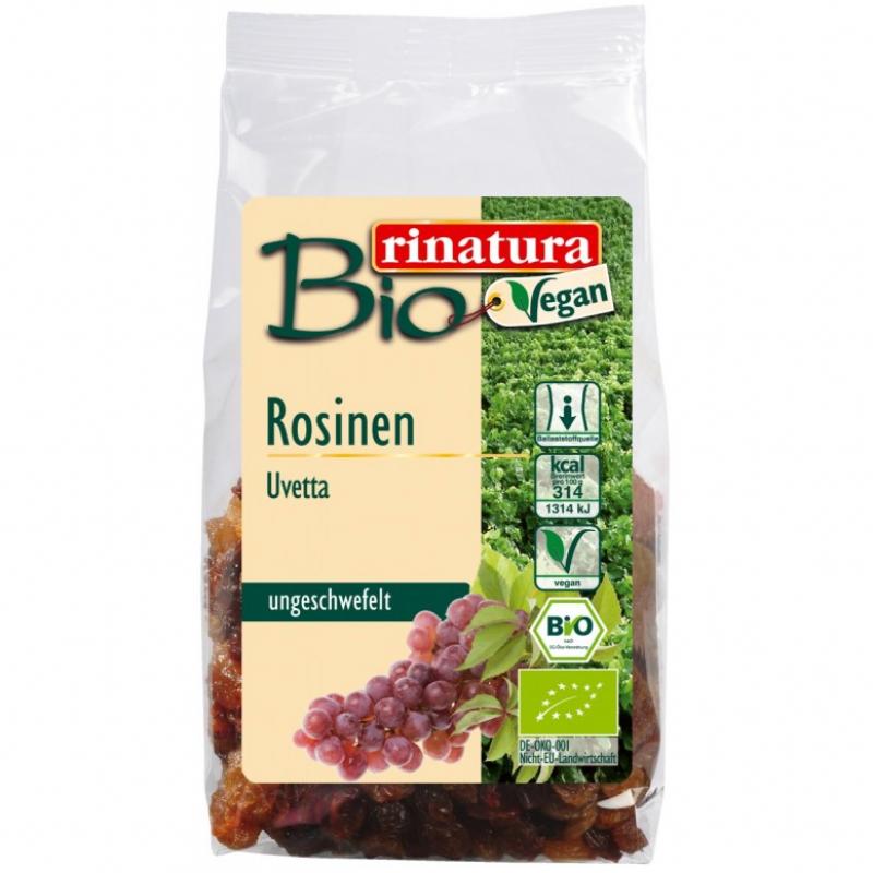 Изюм несульфурированный Rinatura органический, 200 г