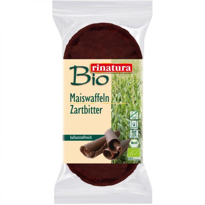 Вафли кукурузные с шоколадом Rinatura органические, 95 г