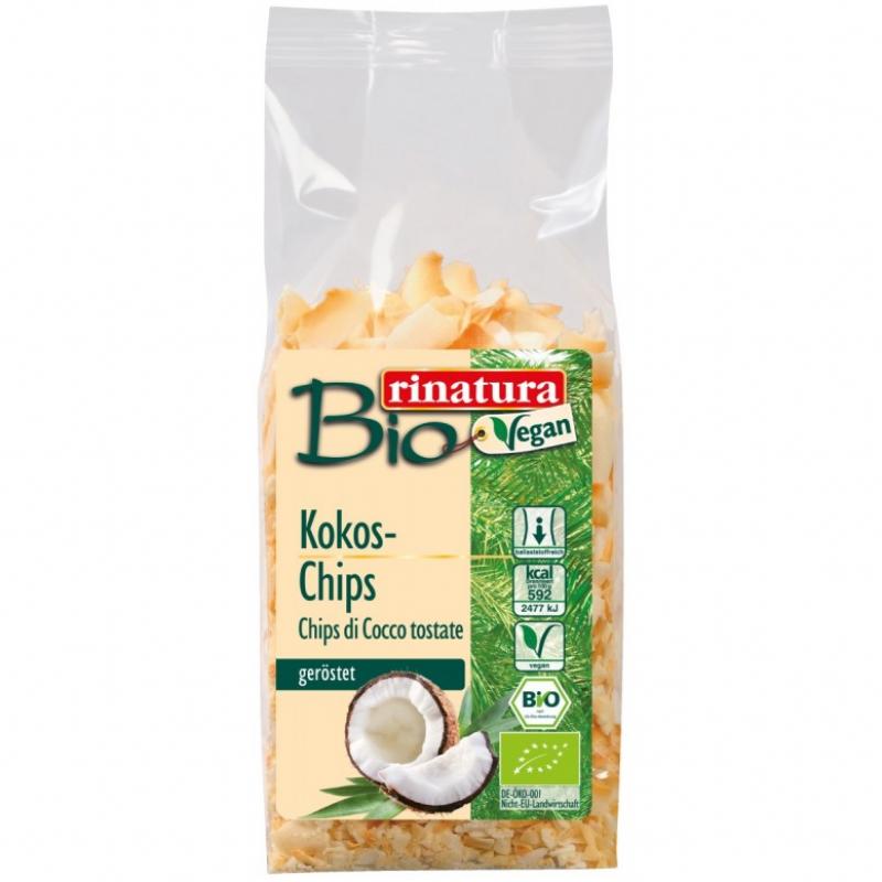 Кокосовые чипсы Rinatura органические, 150 г