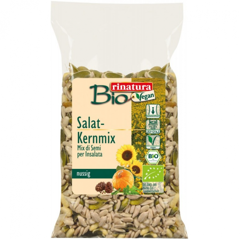Смесь семян для салатов Rinatura, органическая, 100 г
