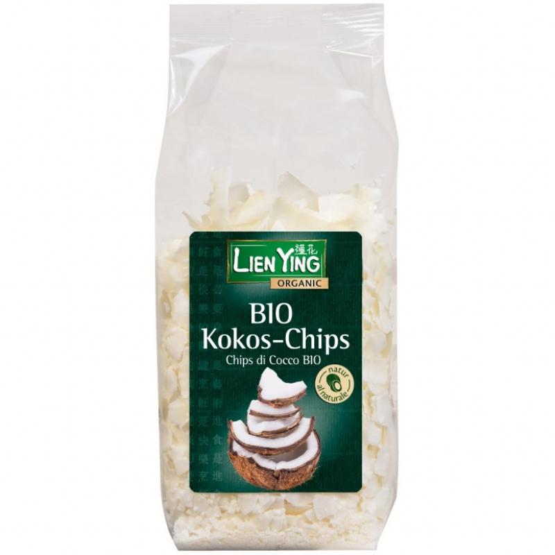 Кокосовые чипсы Lien Ying органические, 150 г