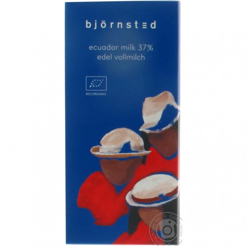 Шоколад молочный Björnsted органический, 100 г