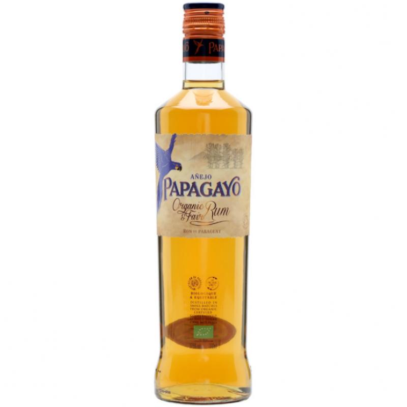 Ром органический золотой Papagayo 0,7 л