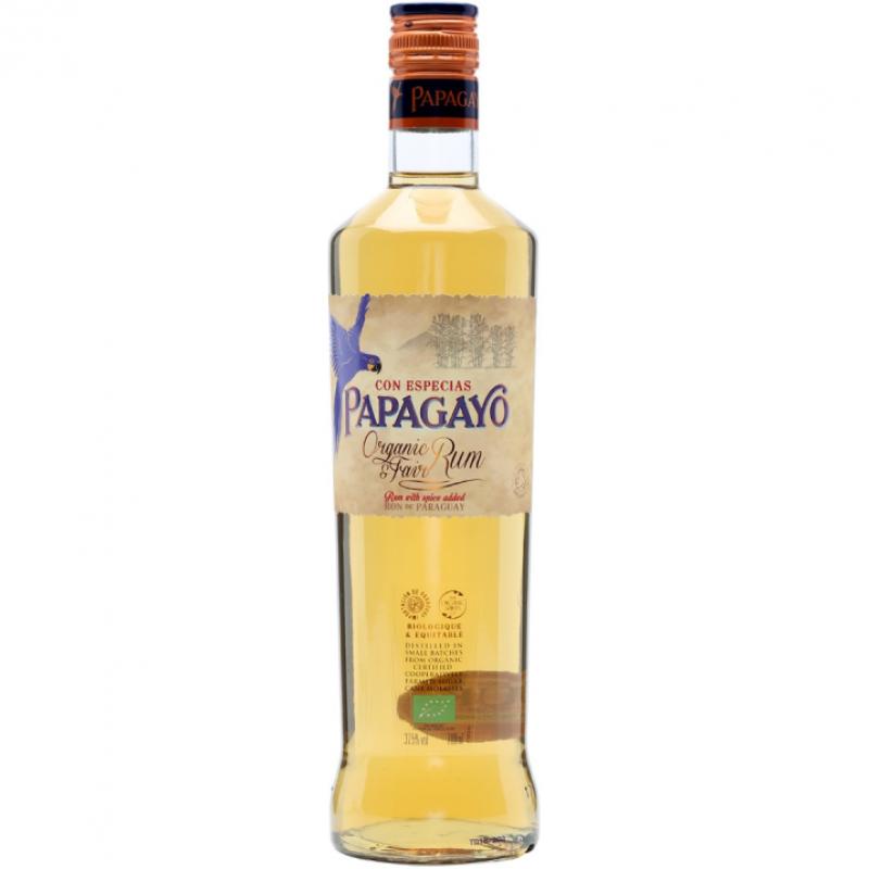 Ром органический Papagayo со специями 0,7 л