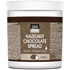 Паста шоколадно-ореховая Cocofina органическая, 200 г