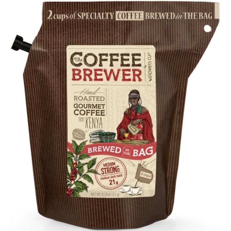 Кофе молотый Кения Grower's Cup, 21 г