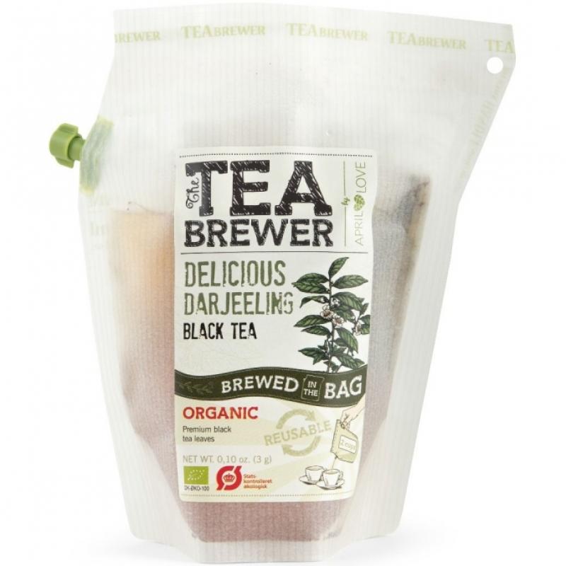 Чай черный Delicious Darjeeling April Love органический, 3 г