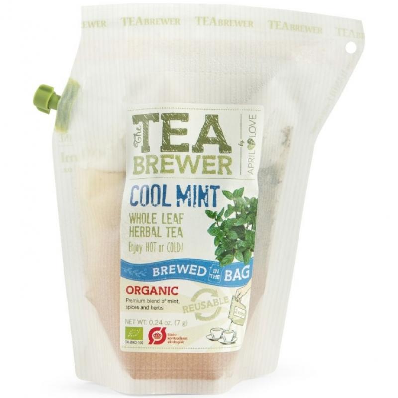 Чай травяной Cool Mint April Love органический, 7 г