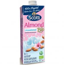 Напиток миндальный без подсластителей Riso Scotti органический, 1 л
