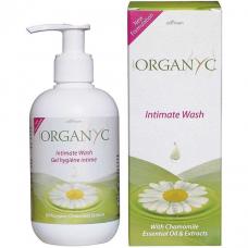 Мыло жидкое для интимной гигиены органическое Organyc, 250 мл