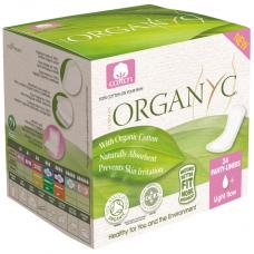 Прокладки ежедневные органические Organyc, 24 шт. в индивидуальной упаковке