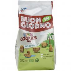 Печенье фигурное из спельты и риса для детей Buongiornobio La Finestra Sul Cielo органическое, 350 г