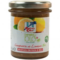 """Конфитюр """"Лимон"""" La Finestra Sul Cielo органический, 220 г"""