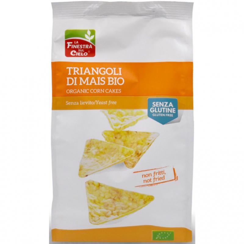 Кукурузные снеки La Finestra Sul Cielo без глютена органические, 100 г
