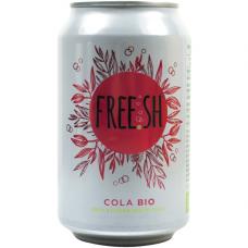 """Напиток газированный сокосодержащий FREE.SH """"Кола"""" органический, 330 мл"""