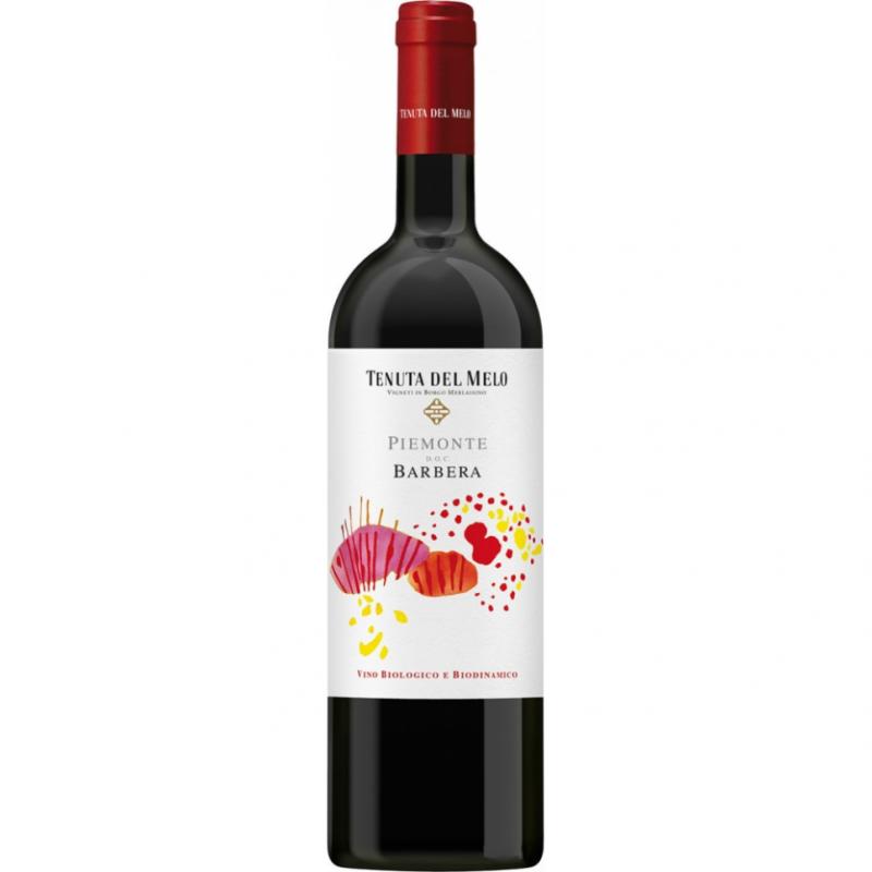 Вино красное сухое Tenuta del Melo Barbera 2016 биодинамическое органическое 0,75 л