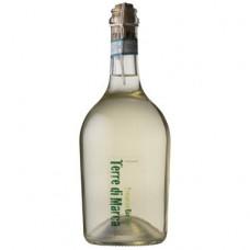 Вино полуигристое белое сухое Terre di Marca Prosecco Rifermentato DOC Frizzante органическое 0,75 л
