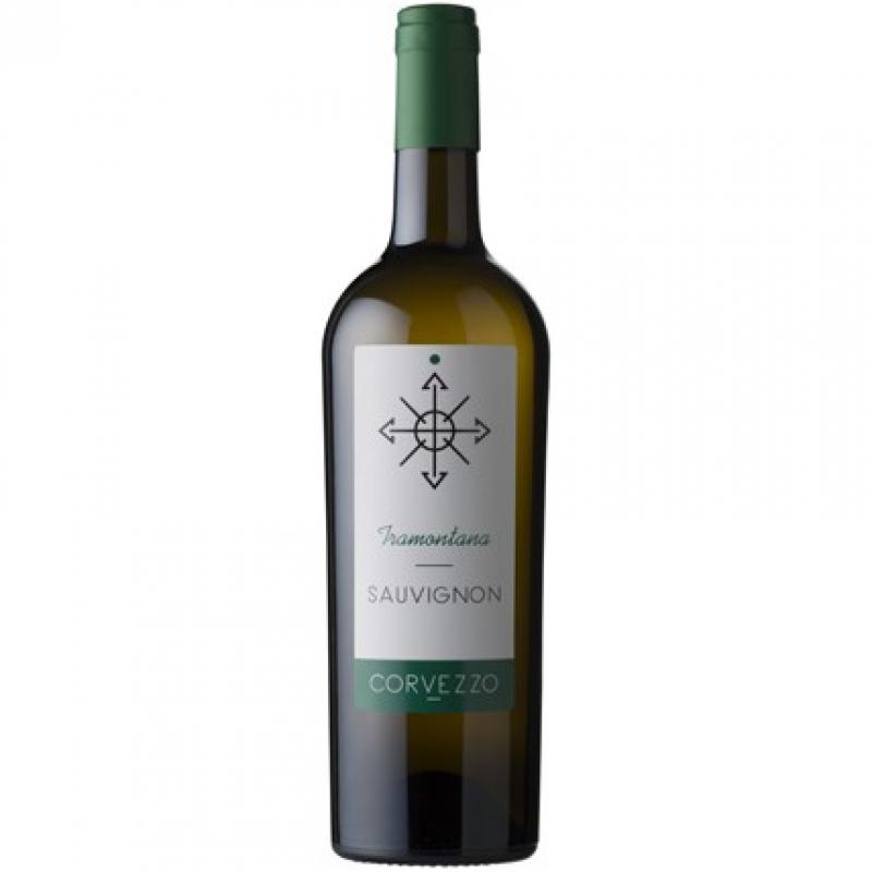 Вино белое сухое Corvezzo Sauvignon органическое 0,75 л