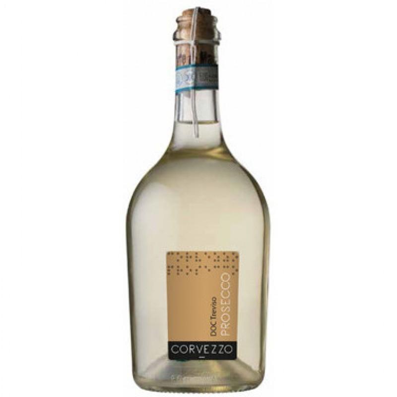 Вино игристое белое сухое Prosecco Frizzante DOC Treviso 2015 органическое 0,75 л