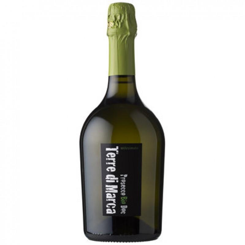 Вино игристое белое сухое Prosecco Terre di Marca Millesimato органическое 1,5 л